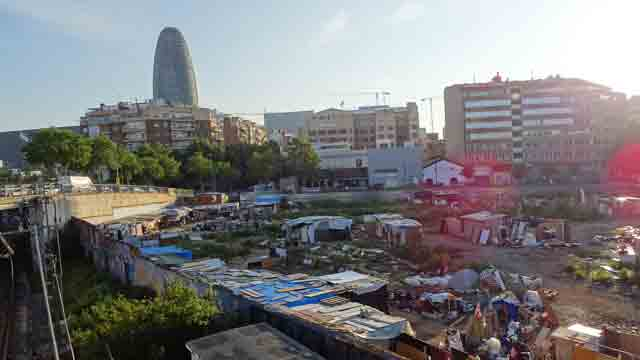 Barcelona: Shanties Again