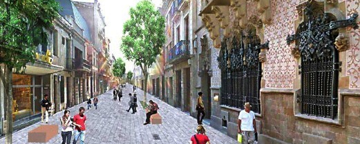 """Mataró Ideal City"" by Jordi Henrich, wins the contest for Centre Development Strategic Plan"